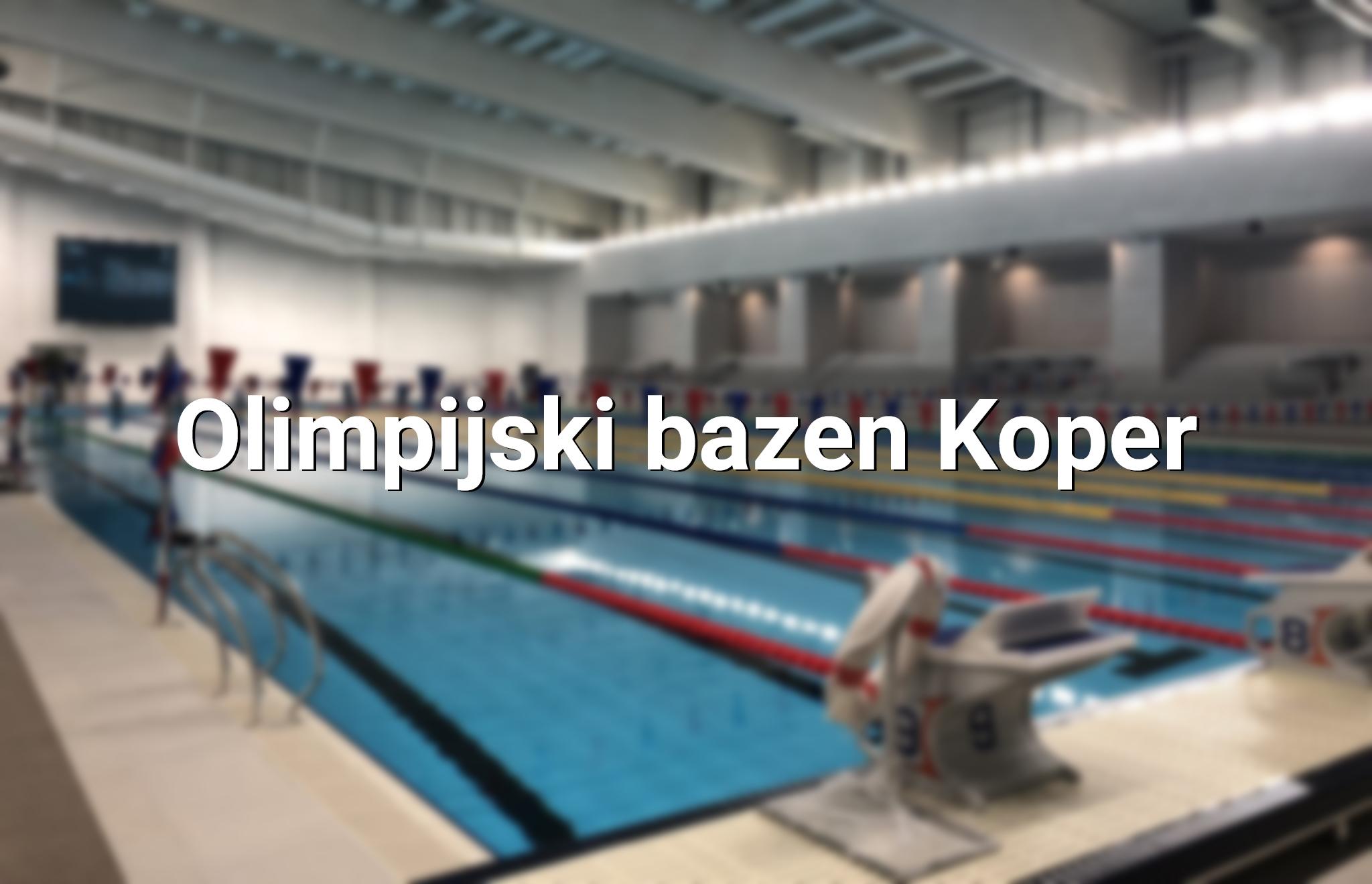 Olimpijski bazen Koper
